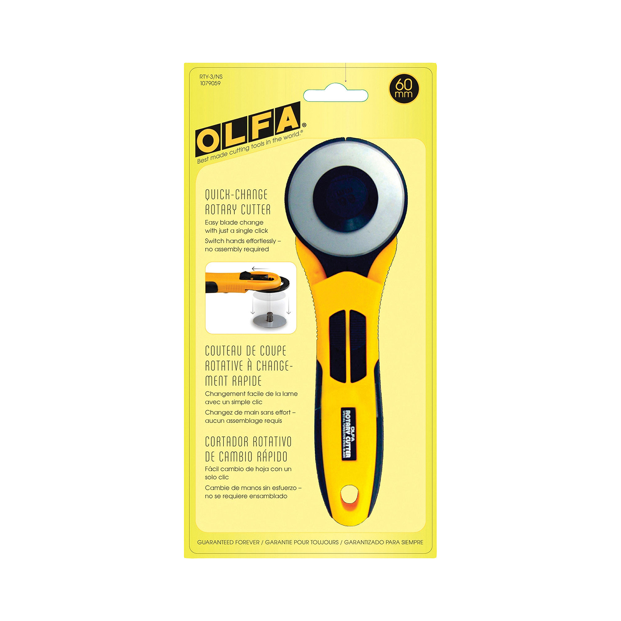 Olfa Quick Change 60mm Rotary Cutter