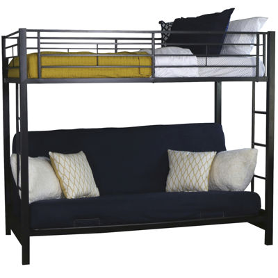 Pearson Twin Bunk Bed Over Futon