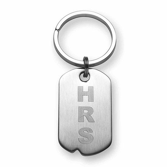 Personalized Dog Tag Key Ring