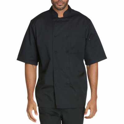 Dickies Unisex Short Sleeve Chef Coat Big