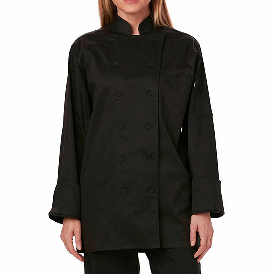 Dickies Womens Executive Chef Coat Plus