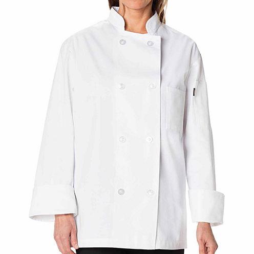 Dickies Unisex Classic Chef 8 Button Coat