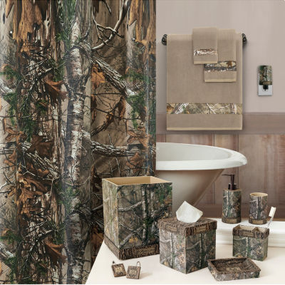 Realtree Xtra Cotton Blend Shower Curtain
