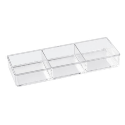 Creative Bath 3 Part Rectangular Organizer