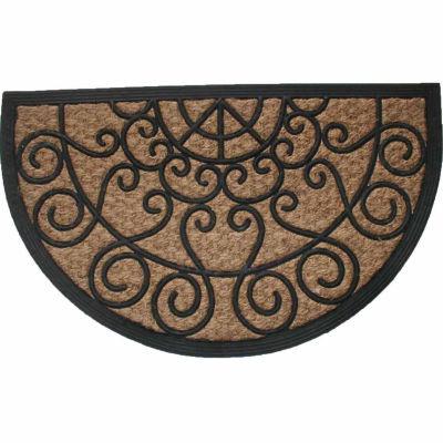 "Panama Scroll Doormat - 18""X30"""