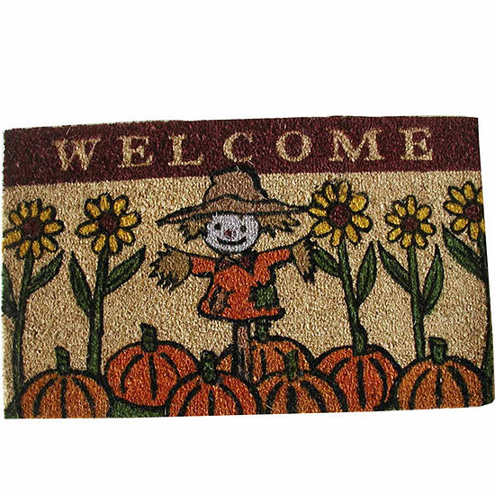 Scarecrow Rectangular Doormat