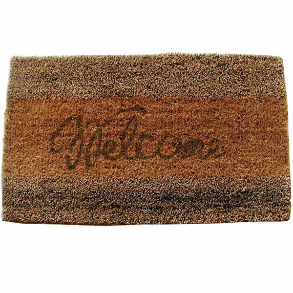 "Seagrass Welcome Rectangle Doormat - 18""X30"""