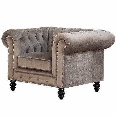Mason Fabric Roll-Arm Chair