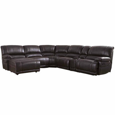 Jackson Faux Leather Chaise Lounge