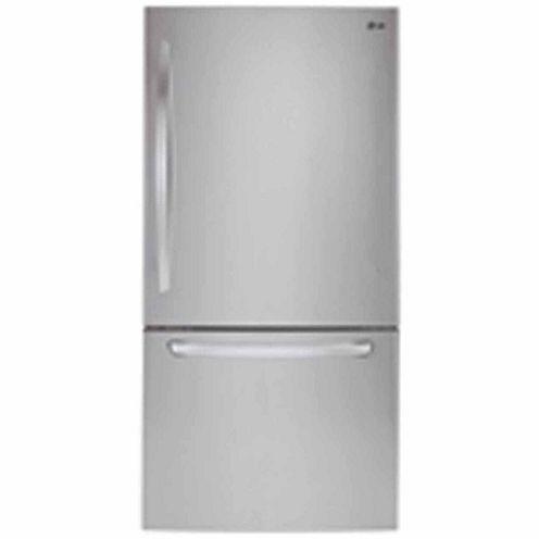 "LG ENERGY STAR® 22.1 cu.ft. 2D 30"" Bottom Mount Refrigerator"