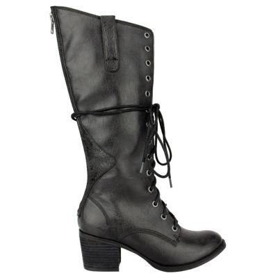 Tallulah Blu Jackson Womens Lace Up Boots