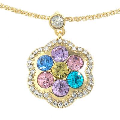 Monet Jewelry Monet Jewelry Womens Multi Color Pendant Necklace HCLVvvS3vs