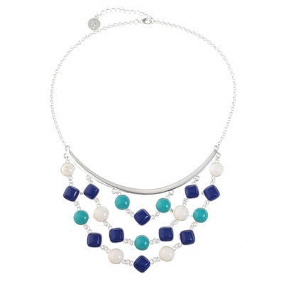 Liz Claiborne Womens Statement Necklace