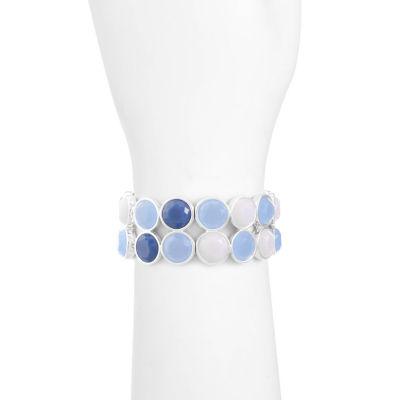 Liz Claiborne Womens Blue Stretch Bracelet