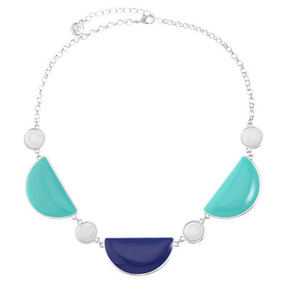 Liz Claiborne Multi Color Statement Necklace