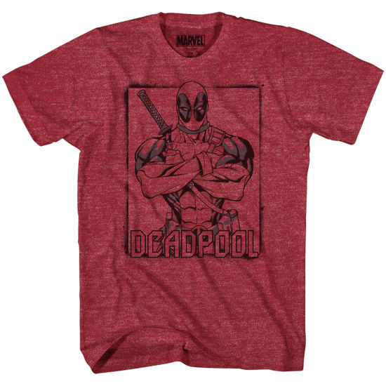 Deadpool Color Pool Graphic Tee
