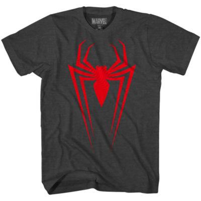 Marvel Raised Spiderman Graphic Tee