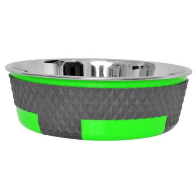 Color Splash Designer Trimond Bowl in Green - Medium