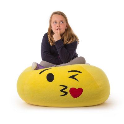 GoMoji™ EMOJI Bean Bag Kiss