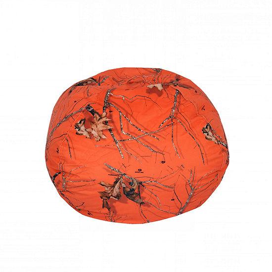 Mossy Oak Orange Bean Bag - Medium