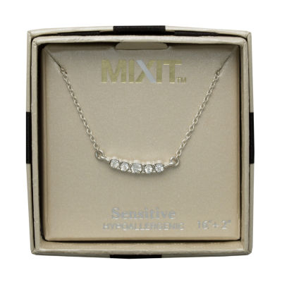 Mixit Brass 16 Inch Chain Necklace