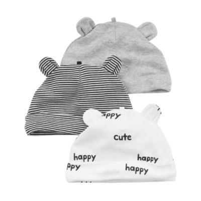 Carter's Boys 3-pc. Baby Hat-Baby