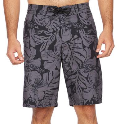 St. John's Bay Stripe Swim Shorts