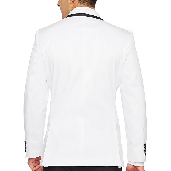 JF J.Ferrar Slim Fit Tuxedo Jacket - Slim