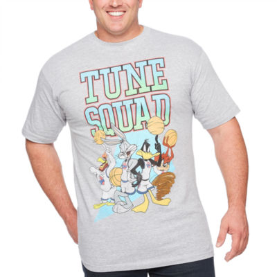 Space Jam Short Sleeve Graphic T-Shirt-Big and Tall