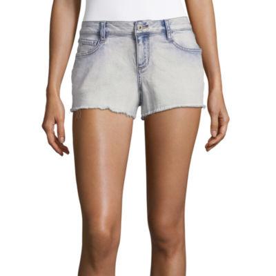 "Arizona 2 1/2"" Denim Shorts-Juniors"