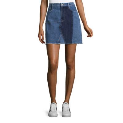 Arizona Denim Skirt-Juniors