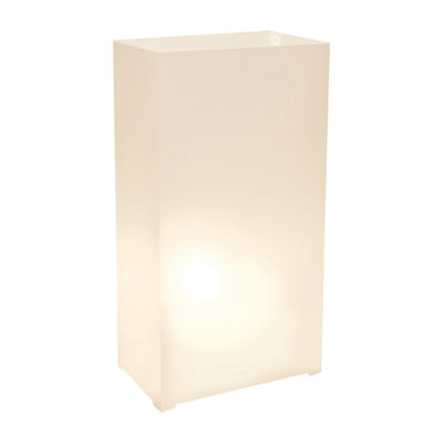 Plastic Luminaria Lanterns- Set of 100
