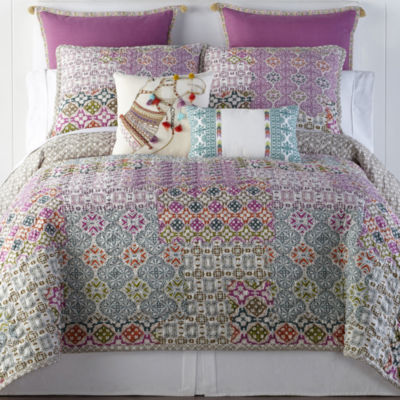JCPenney Home Kahlo Quilt & Accessories