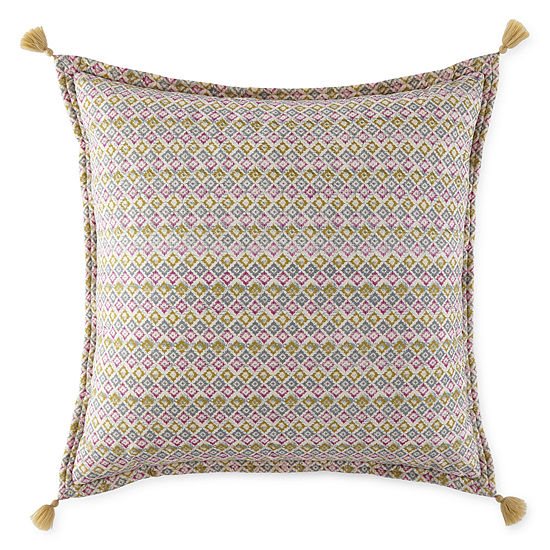 JCPenney Home Kahlo Euro Pillow