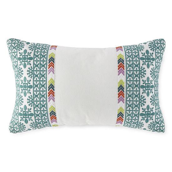 Jcpenney Home Kahlo Rectangular Throw Pillow
