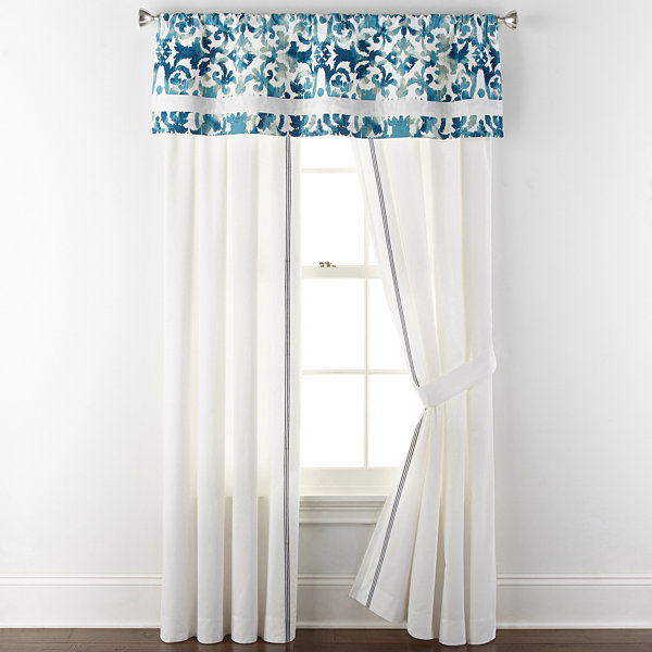 Liz Claiborne Isola Rod-Pocket Curtain Panel