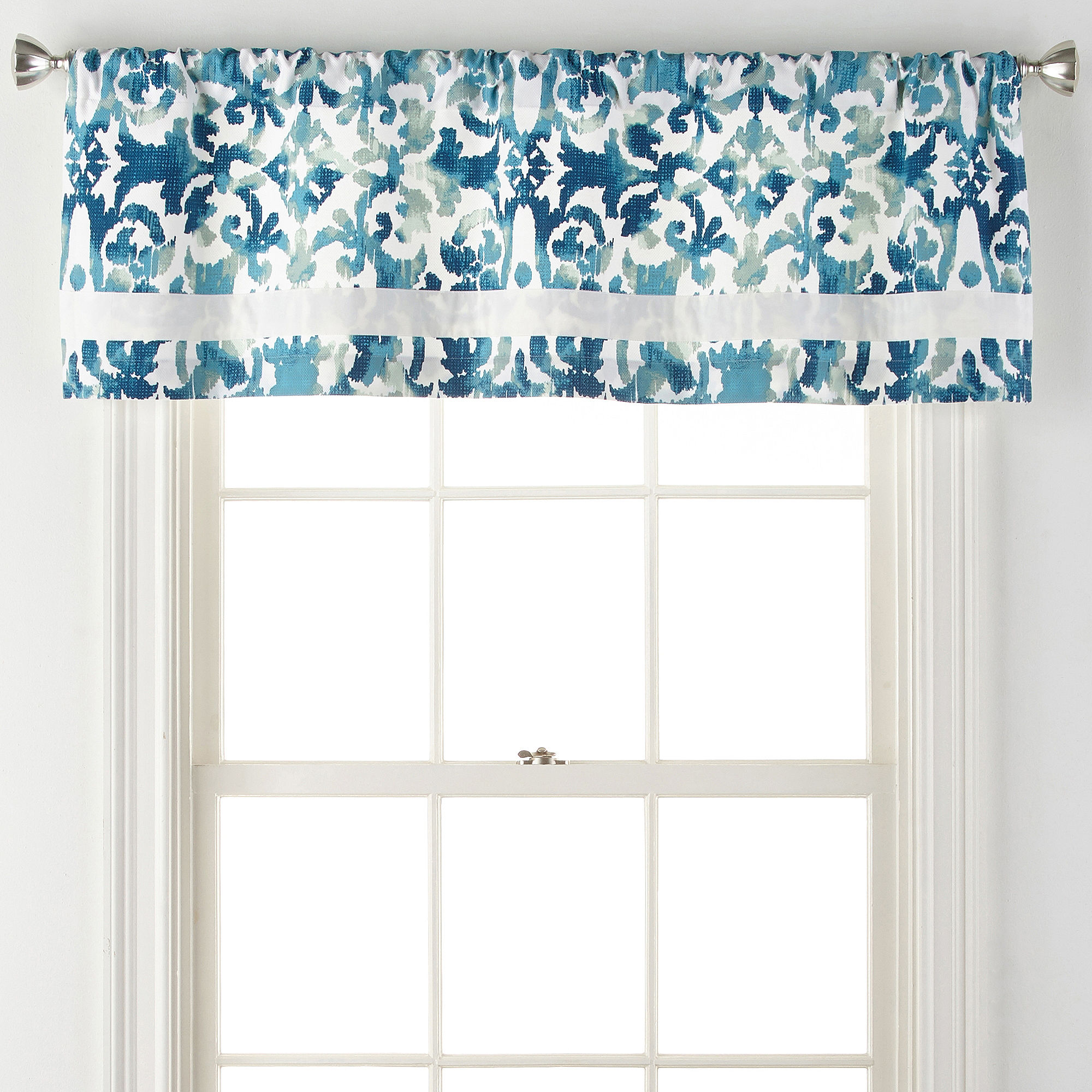 Liz Claiborne Isola Rod-Pocket Tailored Valance