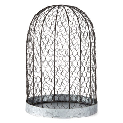 JCPenney Home Large Chicken Wire Planter Planter