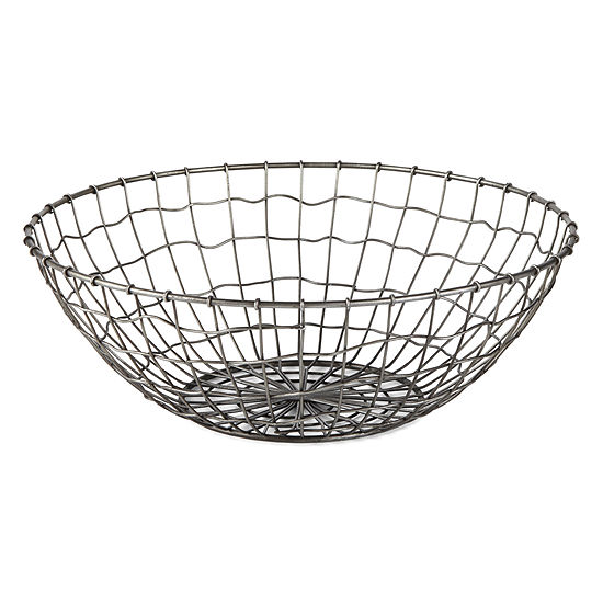JCPenney Home Metal Wire Decorative Bowl