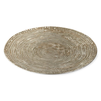 JCPenney Home Metal Charger Plate