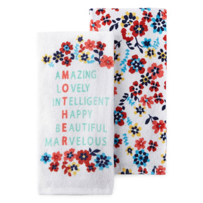 JCPenney Home Outdoor Oasis 2-pack Kitchen Towel