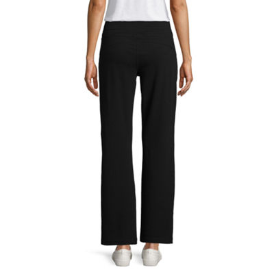 St John's Bay Active™ French Terry Pant (Bootcut)
