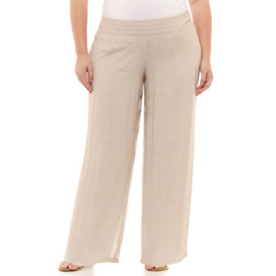 Alyx Woven Pull-On Pants - Plus