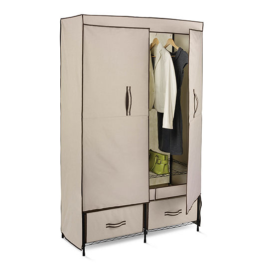 Honey-Can-Do® Portable Wardrobe Storage Closet