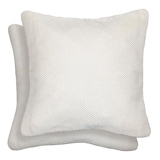 Mene Square Throw Pillow - 18x18 2-Pack