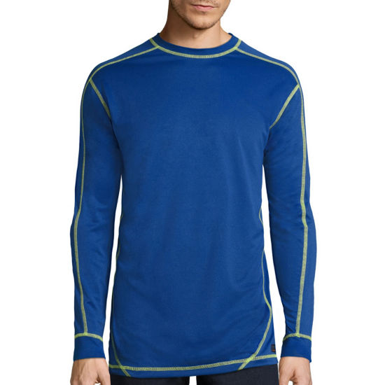Smith's Workwear Long-Sleeve Performance Tee with Contrast Stitching