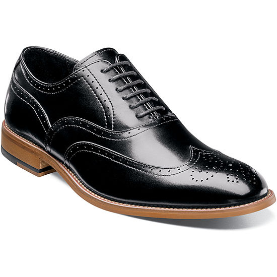 Stacy Adams Mens Dunbar Oxford Shoes Lace-up Wing Tip