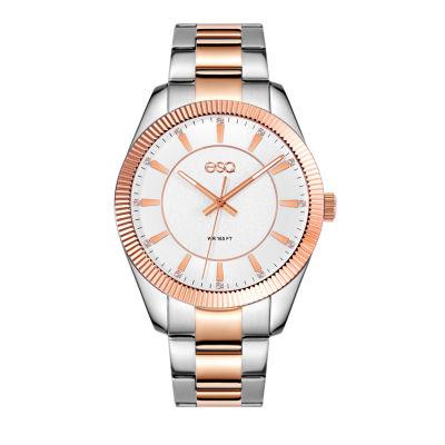 Esq Mens Two Tone Bracelet Watch-37esq015501a