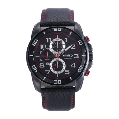 Esq Mens Black Strap Watch-37esq021001a