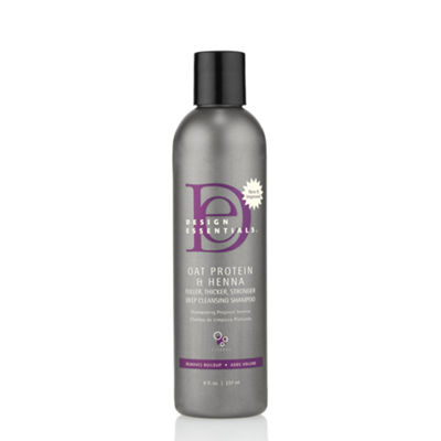 Design Essentials® Oat Protein Henna Deep Cleansing Shampoo - 8 oz.